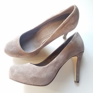 ASOS suede leather closed toe pumps size 5